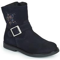 Zapatos Niña Botas de caña baja Citrouille et Compagnie POUDRE Marino