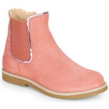 Zapatos Niña Botas de caña baja Citrouille et Compagnie PRAIRIE Rosa