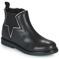 Zapatos Niña Botas de caña baja Citrouille et Compagnie PRATO Negro