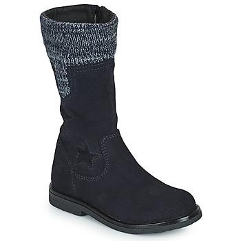 Zapatos Niña Botas urbanas Citrouille et Compagnie PRARA Marino