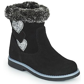 Zapatos Niña Botas urbanas Citrouille et Compagnie PARAVA Negro