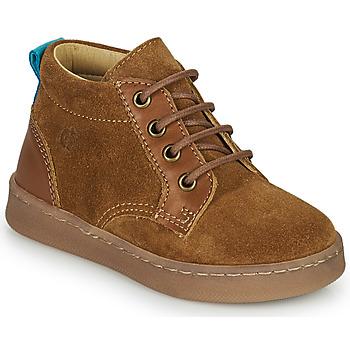 Zapatos Niño Zapatillas altas Citrouille et Compagnie PACELLE Camel