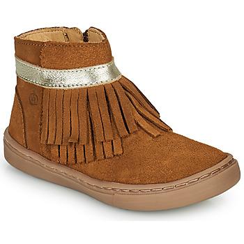 Zapatos Niña Botas de caña baja Citrouille et Compagnie PIDOUTE Camel