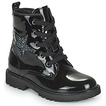 Zapatos Niña Botas de caña baja Citrouille et Compagnie PICOTI Negro
