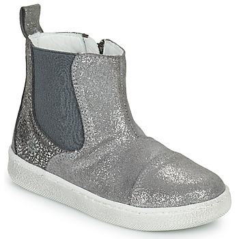 Zapatos Niña Botas de caña baja Citrouille et Compagnie PIMANE Gris