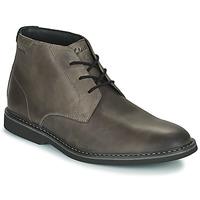 Zapatos Hombre Botas de caña baja Clarks ATTICUSLT MID Gris