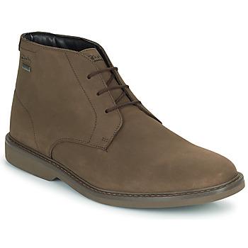 Zapatos Hombre Botas de caña baja Clarks ATTICUSLTHIGTX Marrón