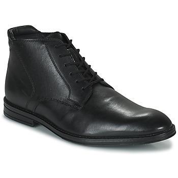 Zapatos Hombre Botas de caña baja Clarks CITISTRIDERISE Negro