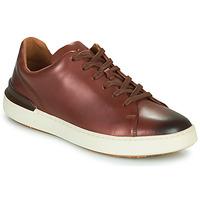 Zapatos Hombre Derbie Clarks COURTLITE LACE Marrón