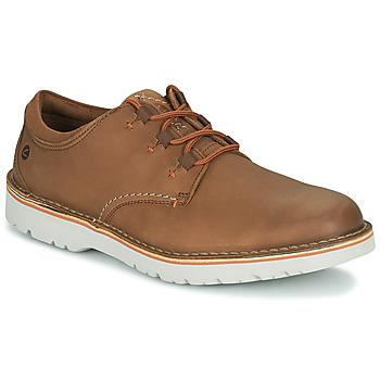 Zapatos Hombre Derbie Clarks EASTFORD LOW Camel