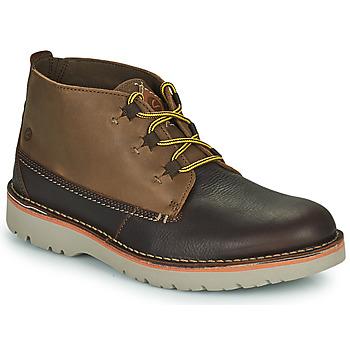 Zapatos Hombre Botas de caña baja Clarks EASTFORD MID Marrón