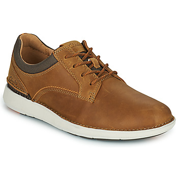 Zapatos Hombre Derbie Clarks LARVIK TIE Camel
