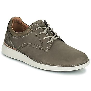 Zapatos Hombre Derbie Clarks LARVIK TIE Marrón