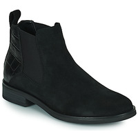 Zapatos Mujer Botas de caña baja Clarks MEMI TOP Negro