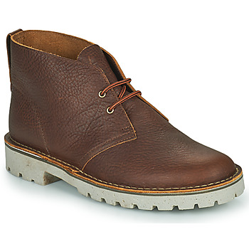 Zapatos Hombre Botas de caña baja Clarks OVERDALE MID Camel