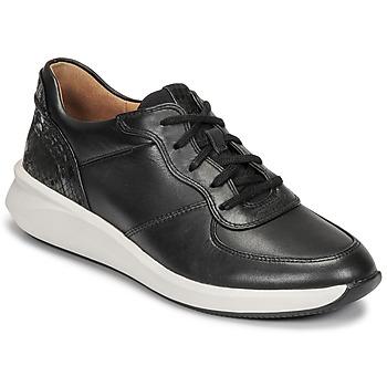Zapatos Mujer Zapatillas bajas Clarks UN RIO SPRINT Negro