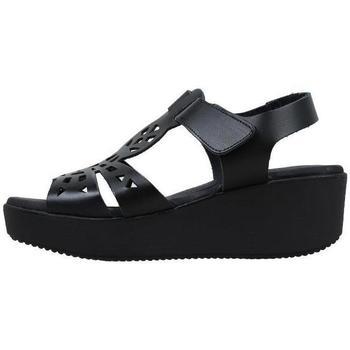Zapatos Mujer Sandalias Amanda  Negro