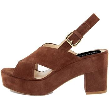 Zapatos Mujer Sandalias Fashion Attitude  Marrone