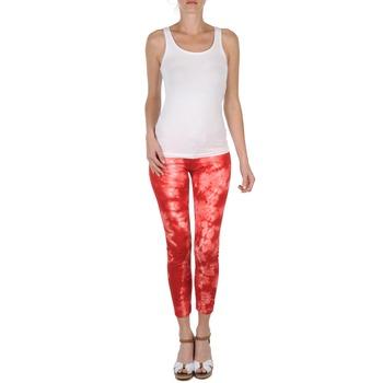 textil Mujer Pantalones cortos Eleven Paris DAISY Rojo / Blanco