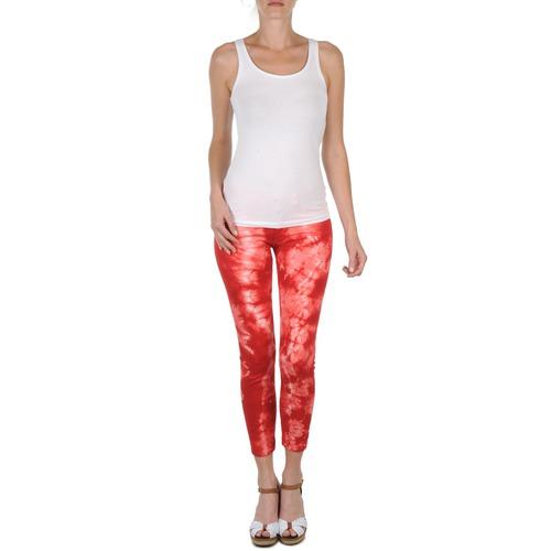 Textil Mujer RojoBlanco Eleven Pantalones Daisy Paris Cortos Ybyf7g6