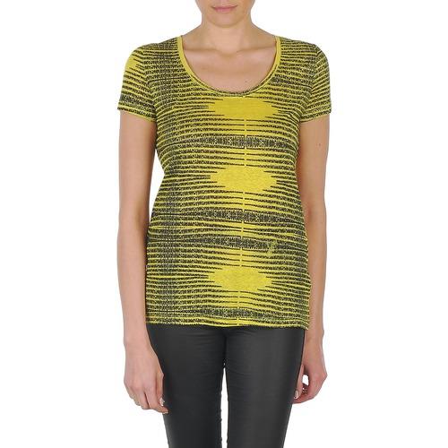 textil Mujer camisetas manga corta Eleven Paris DARDOOT Amarillo