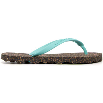 Zapatos Mujer Chanclas Asportuguesas FLIP-FLOP-GREEN VERDE