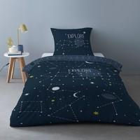 Casa Ropa de cama Mylittleplace SCIENCE KID Azul / Marino