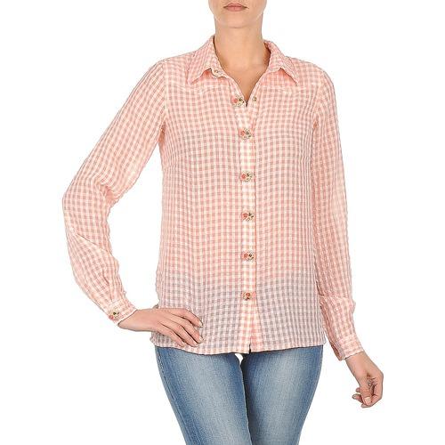 Manoush CHEMISE ML ALIZE Rosa - Envío gratis | ! - textil camisas Mujer