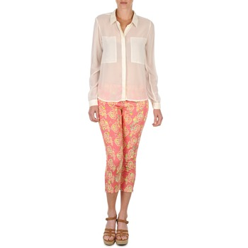 textil Mujer Pantalones cortos Manoush PANTALON GIPSY JEANS Rosa
