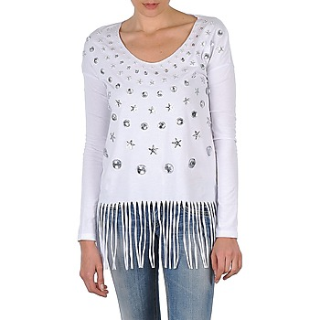 textil Mujer Camisetas manga larga Manoush TUNIQUE LIANE Blanco