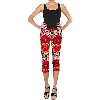 textil Mujer Pantalones cortos Manoush PANTALON POPPY Rojo