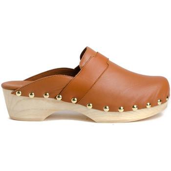 Zapatos Mujer Zuecos (Clogs) Tiziana ZUECO 05P Marrón