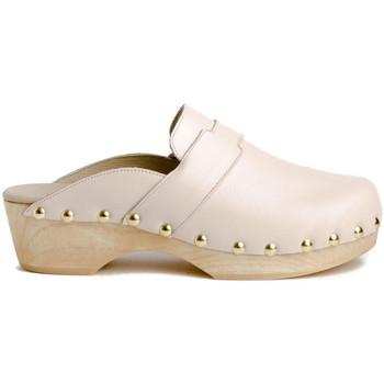Zapatos Mujer Zuecos (Clogs) Tiziana ZUECO 05P Beige