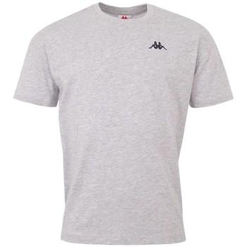 textil Hombre Camisetas manga corta Kappa Veer T-Shirt Grise