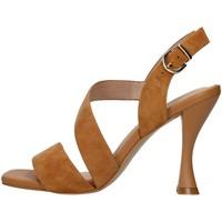 Zapatos Mujer Sandalias Luciano Barachini GL263R CUERO