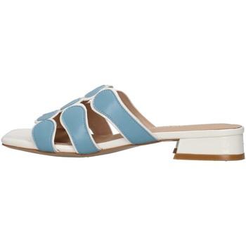 Zapatos Mujer Zuecos (Mules) Luciano Barachini GL292O BLANCO