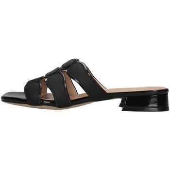Zapatos Mujer Zuecos (Mules) Luciano Barachini GL292A NEGRO