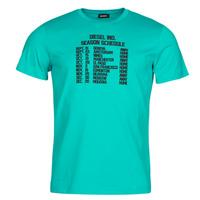 textil Hombre Camisetas manga corta Diesel T-DIEGOS Azul