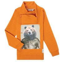 textil Niño Sudaderas Name it NKMKUVAU LS SWE Naranja