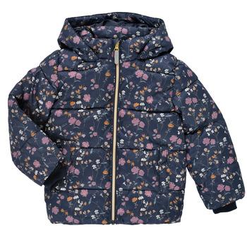 textil Niña Plumas Name it NMFMAY PUFFER JACKET Marino / Multicolor
