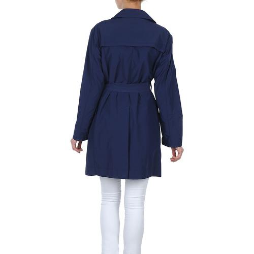 Textil Lola Vento Trench Mujer Marino Malin LAR4j35