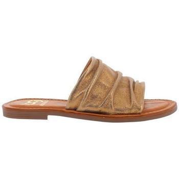 Zapatos Mujer Zuecos (Mules) Blogger WIK-ISLA oro