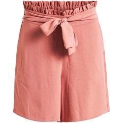 textil Mujer Shorts / Bermudas Vila VIRASHA HWRX SHORTS Rosa