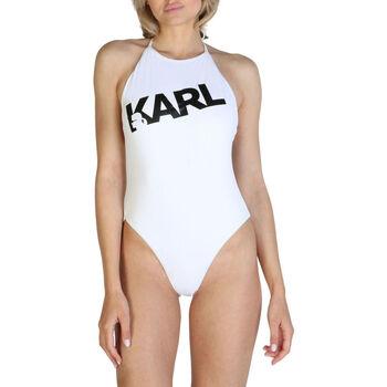 textil Mujer Bañador Karl Lagerfeld - kl21wop03 Blanco