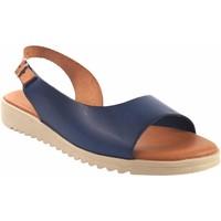 Zapatos Mujer Sandalias Eva Frutos Sandalia señora  1205 azul Azul