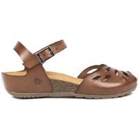 Zapatos Mujer Sandalias Yokono MONACO-003 Marrón