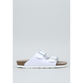 Zapatos Mujer Zuecos (Mules) Senses & Shoes  Blanco