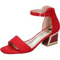 Zapatos Mujer Sandalias Francescomilano BH35 Rojo