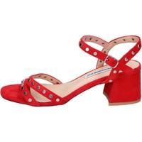 Zapatos Mujer Sandalias Francescomilano BH38 Rojo