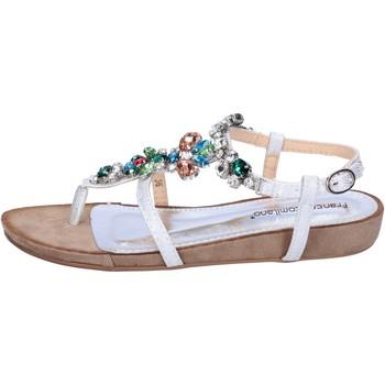 Zapatos Mujer Sandalias Francescomilano BH41 Plata